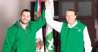 Alfredo Adame estrena papel; ahora es candidato del Verde para Tlalpan