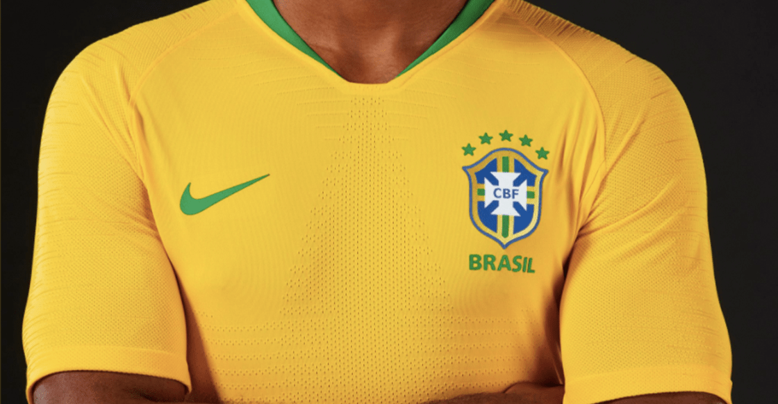 Playera de Brasil para Mundial