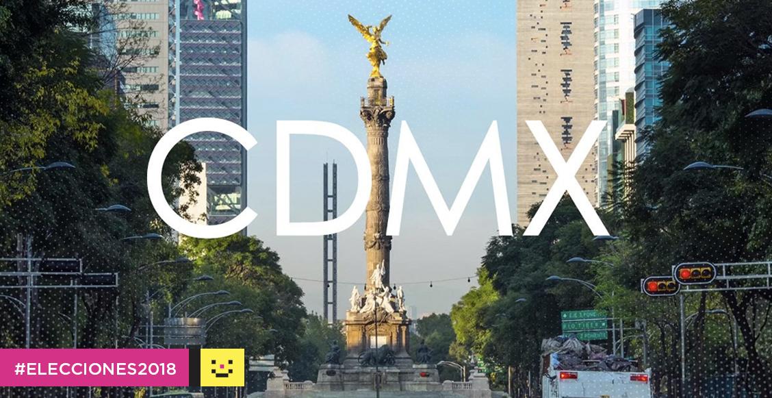 CDMX elecciones 2018