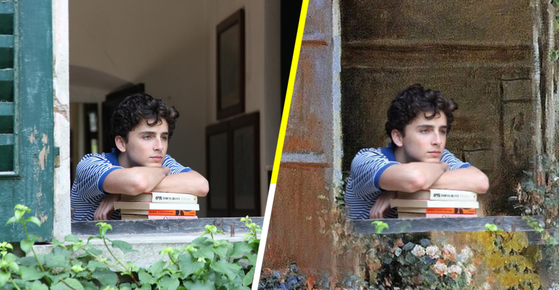 Así se vería Call Me By Your Name en el universo de Claude Monet