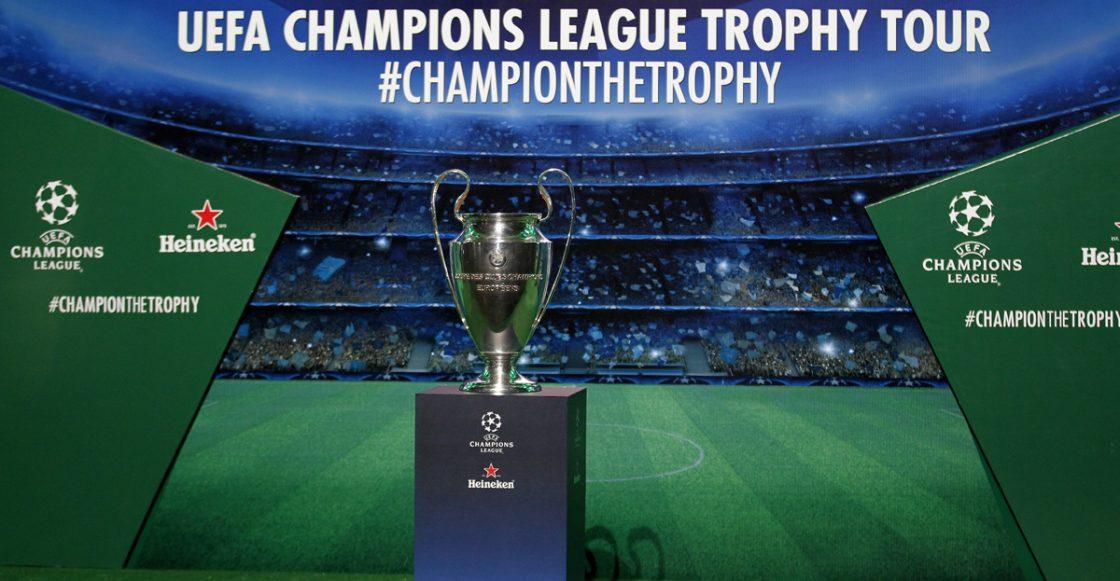 Trofeo de la UEFA Champions League en México