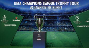 Share The Trophy: Checa las fechas y lugares del Trophy Tour de la UEFA Champions League en México
