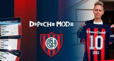 El San Lorenzo de Argentina tiene socios de lujo: Depeche Mode