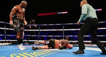 ¡El KO del año! Dillian Whyte mandó a dormir a Lucas Browne en el sexto round