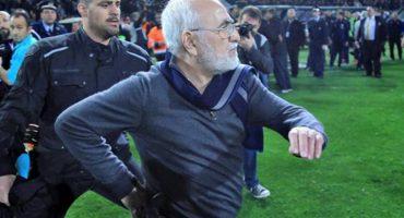La Superliga de Grecia reanudará actividades, con todo y dueño pistolero del PAOK