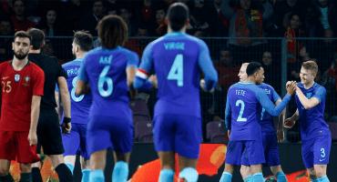 Holanda goleó a Portugal con Cristiano en la cancha