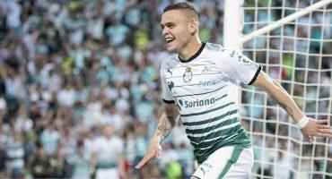 Santos retomó su liderato en un partidazo contra Monterrey