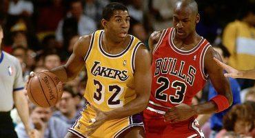 Recuerdos NBA, Magic fue testigo de la mejor clavada de Jordan
