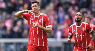 Lewandowski se convirtió en el máximo goleador extranjero del Bayern