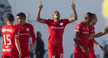 Toluca ganó en casa de Lobos y es líder del Clausura 2018