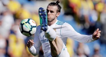 Sin Cristiano y con doblete de Bale, Real Madrid goleó a Las Palmas
