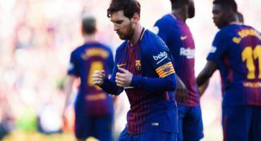 Messi celebró gol con un bailecito a lo 'Tomás Boy'