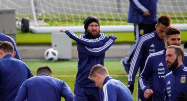 ¡Lionel Messi ya entrenó con Argentina en las instalaciones del Real Madrid!