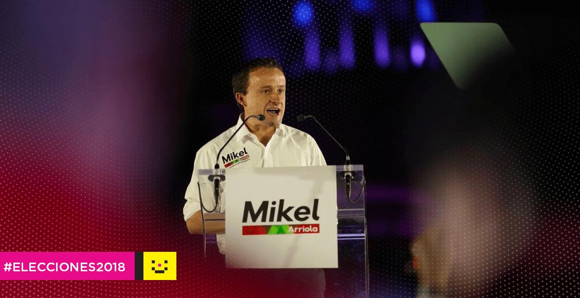 Mikel Arriola inició su campaña para la jefatura de gobierno cdmx