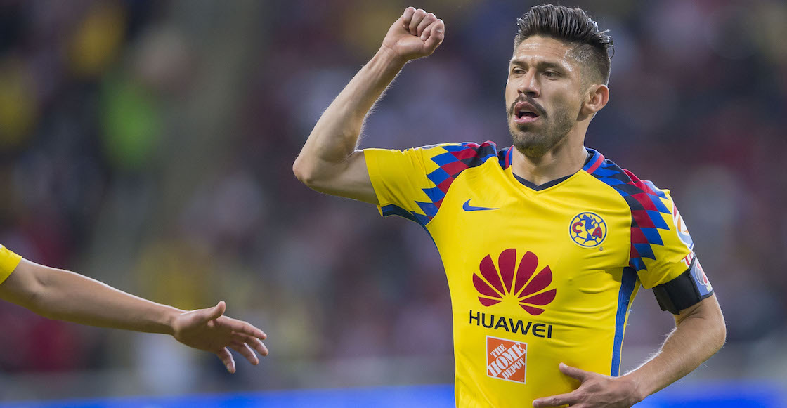 Oribe Peralta Chivas América Clásico Clausura 2018 Liga MX