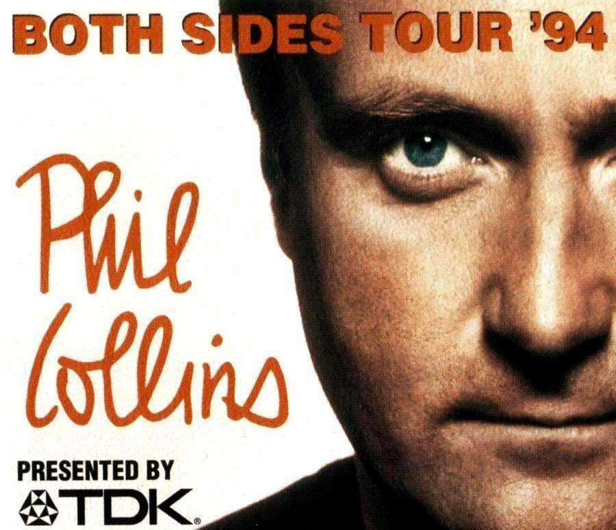 Phil Collins Both Sides Tour Mexico 1994