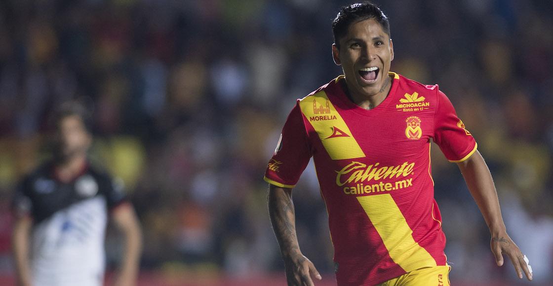 Raúl Ruidíaz Monarcas Morelia Liga MX Clausura 2018