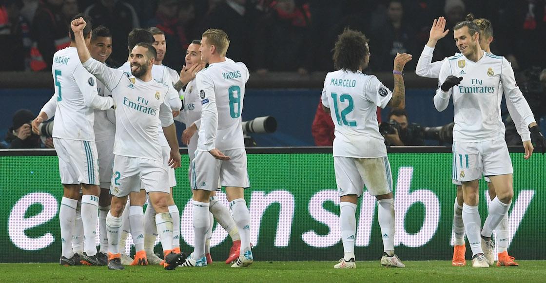 ¡Real Madrid tomó París y avanzó a Cuartos de Final de Champions!