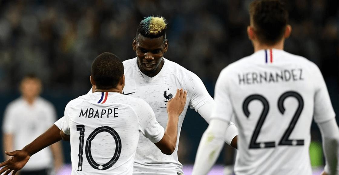 Rusia tampoco pudo con Francia y Mbappé