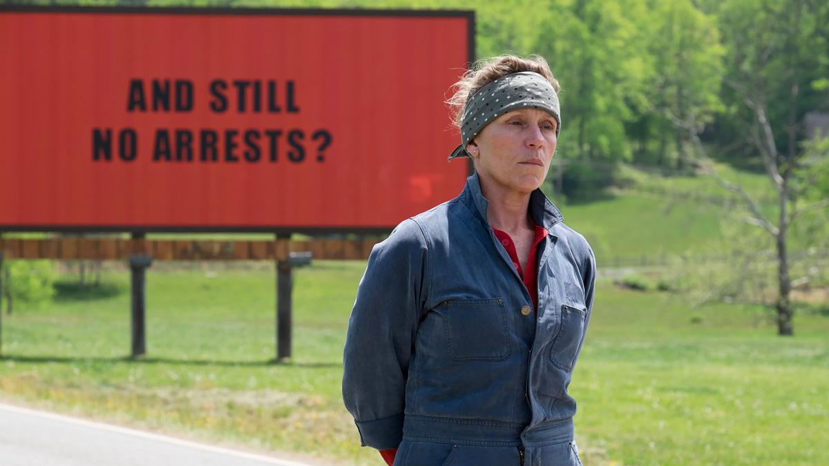 Tres Anuncios Por un Crimen nominada al Oscar