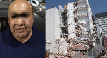 Apoderado legal del edificio Zapata 56, colapsado en el 19S, es detenido