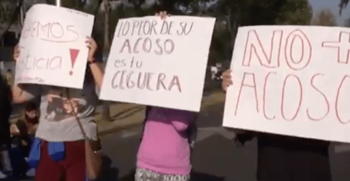 Alumnos de la Prepa 5 piden despido de maestro que presuntamente habría cometido acoso sexual