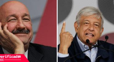#Verificado2018 ¡Falso! Salinas de Gortari y López Obrador no posaron juntos pa' una foto