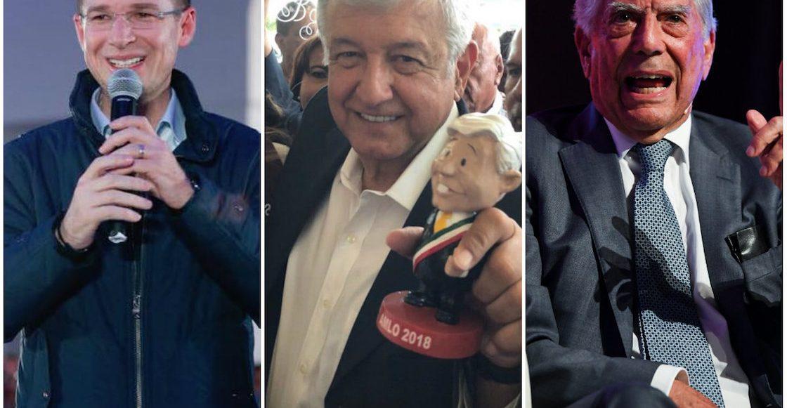 ¿Qué pensamos los mexicanos sobre los escándalos de Anaya, las frases de Vargas Llosa sobre AMLO y el actuar de la PGR?
