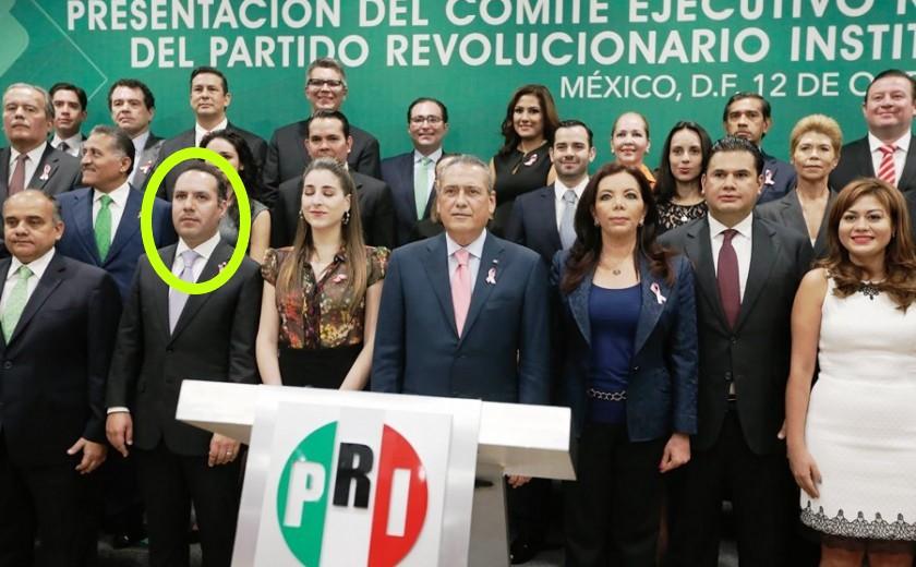 Canek Vazquez y Manlio Fabio Beltrones, PRI