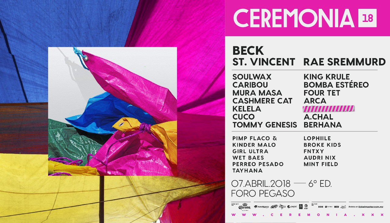 Cartel de Ceremonia 2018