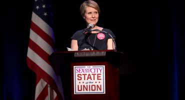 Cynthia Nixon de 'Sex and the City' lanza campaña para gubernatura de Nueva York
