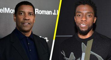 Hada madrina nivel: Denzel Washington pagó para que Chadwick Boseman fuera a la Universidad de Oxford