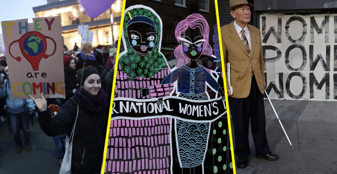 Lisístrata, el color lila y el Día Internacional de la Mujer
