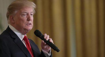 Trump sorprende al Dow Jones y luego se defiende en Twitter