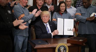 Estados Unidos excluye a México de aranceles a acero y aluminio... por ahora