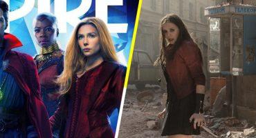 ¿Mucho photoshop? Elizabeth Olsen no se reconoce en la portada para 'Avengers' de Empire