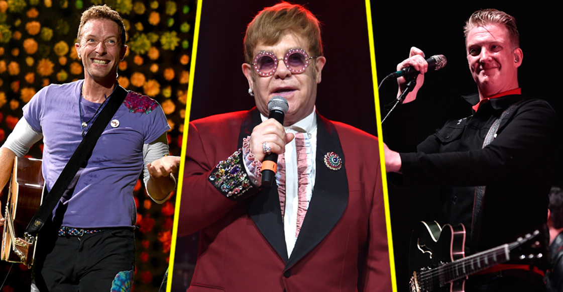 QOTSA, Coldplay, The Killers y Lady Gaga se unirán para un álbum de covers a Elton John