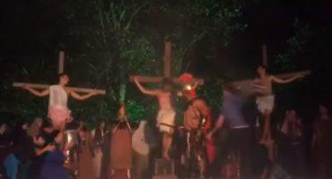 Como cuando quieres cambiar la historia y evitar que crucifiquen a Jesucristo
