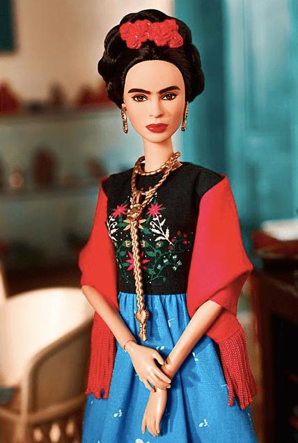 Congruencia nivel: Prohíben vender en México la Barbie de Frida Kahlo