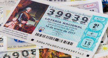 Buena suerte nivel: Se gana la lotería con el primer boleto que compró en toda su vida