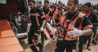 Hospitales de Gaza no pueden con los miles de heridos por soldados israelíes
