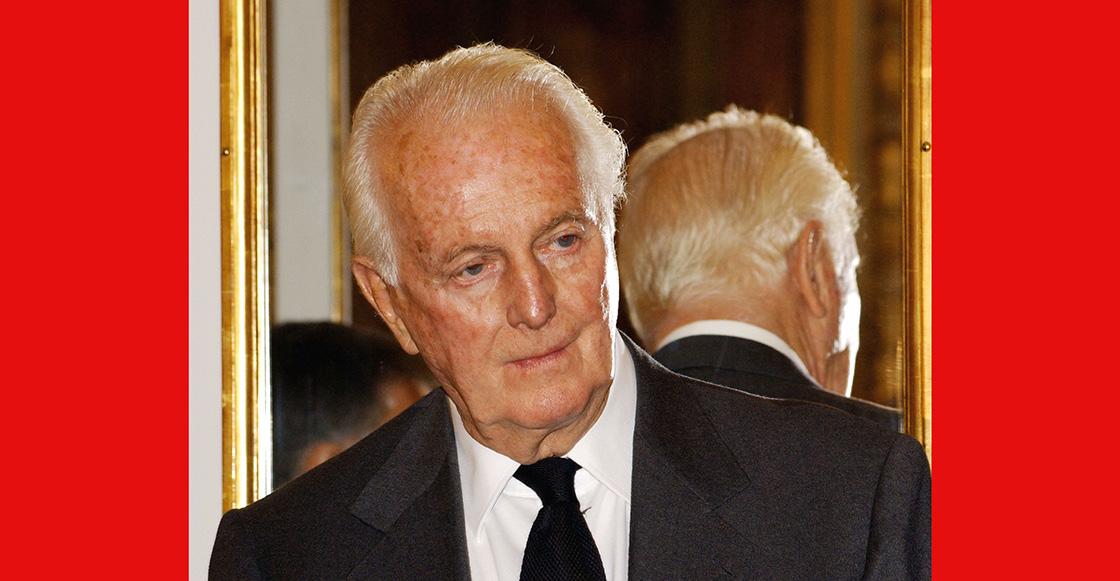 Muere el diseñador de alta moda francés, Hubert de Givenchy