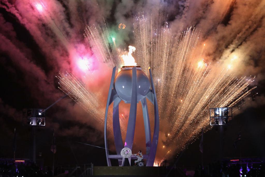 Las mejores postales de la inauguración de los Juegos Paralímpicos de PyeongChang 2018