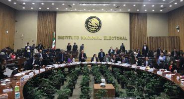 INE sancionará a PRI y Movimiento Ciudadano por filtrar lista de electores