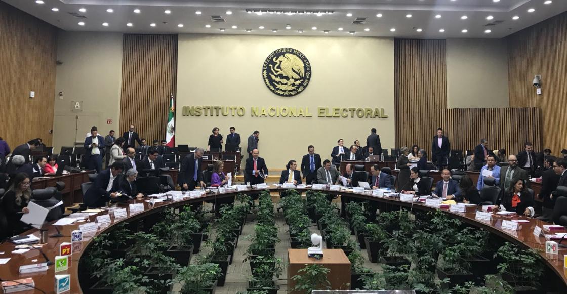Pleno del Consejo del INE