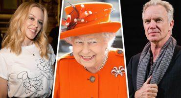 Sting, Shaggy y Kylie Minogue cantarán en el cumpleaños de la reina Isabel II