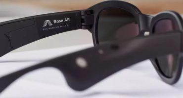 Porque el futuro nos alcanzó, Bose mostró sus nuevos lentes de Realidad Aumentada