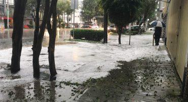 Saquen los impermeables de Reino Aventura porque se espera fuerte lluvia y granizo en la CDMX