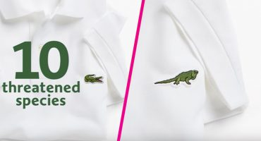 Lacoste le dice adiós a su cocodrilo... para apoyar a las especies en peligro de extinción 😍😱