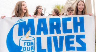 #MarchForOurLives: La marcha de los jóvenes para exigir control en la venta de armas en Estados Unidos